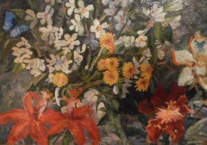 Вячеслав Павленко, Цветы, 56х80, холст, масло, 2013 г.