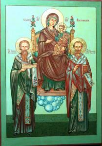 икона Богоматери  Могочинмкая Ю Водзинского