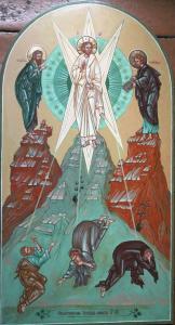 икона Преображение Господа  Ю Водзинского