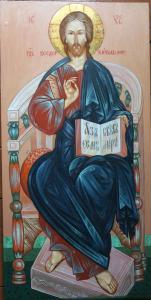 икона Спаса Вседержителя  Ю Водзинского 001