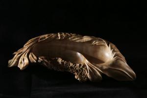 6. Александр Съедин, бижутерница Лагуна, 2015, берёзовый сувель.