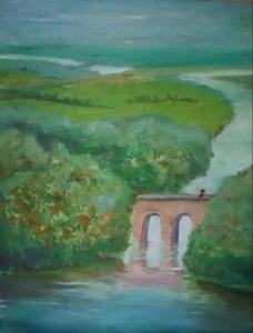 Мост в Камелот (холст,масло)