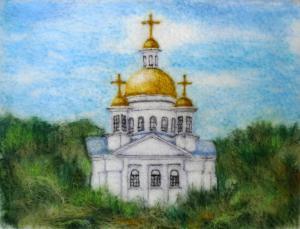 Храм во имя Мучениц Веры, Надежды, Любови и матери их Софии в Полтаве Шерсть 2013