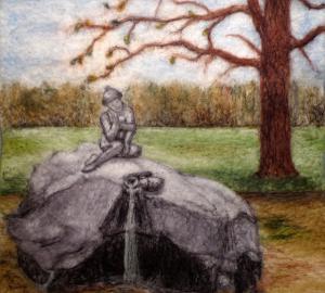 Царскосельская статуя Шерсть 2015 Елена Белова