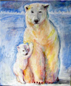 белый медв самый окончат