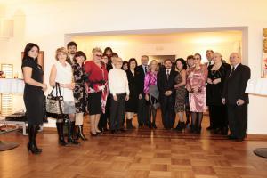Посол Глава Представительства Европейского Союза в РФ и Председатель ТСПХ И.Игнатков с членами ТСПХ
