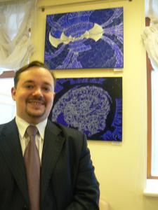 Председатель ТСПХ, художник И.Игнатков