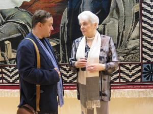 Н. Солженицина Президент фонда им.А.Солженицина и Председатель ТСПХ И.Игнатков