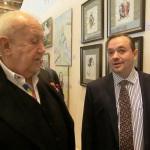 Народный художник СССР, Президент РАХ З.Церетели и Председатель ТСПХ И.Игнатков