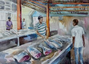 Рынок в Виктории