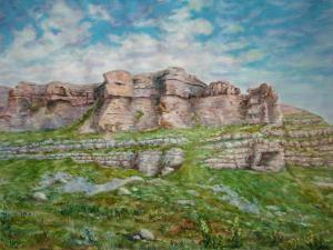 Перевал Гумбаши - акв-бум-45x60-2007