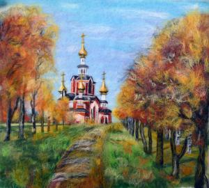 Храм во имя Мучениц Веры, Надежды, Любови и матери их Софии в Вятской губернии