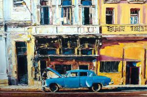 Кубинское путешествие-холст-масло-60×40-2018