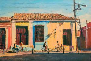 Кубинское путешествие 2-холст-масло-60×40-2019