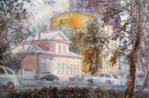 Москва живопись