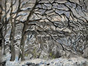 дубы  Рихтера 35х45 х.м.
