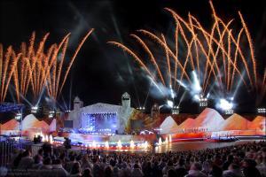 открытие Олимпийского огня и фестиваль света 2014г.
